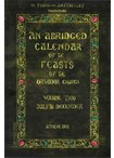 An Abridged Calendar of the Feasts of the Orthodox Church Vol.Two July to Decemder